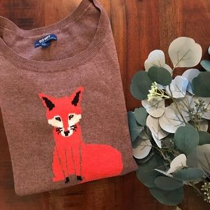 Old Navy Crewneck Sweater in Fox